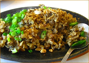 Filipino Chicken Sisig
