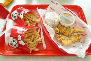 Lunch at Jollibee