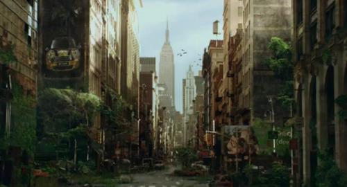 City Retaken by Nature