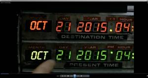 Back to the Future 2 Time