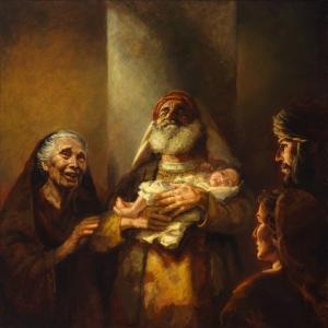 Simeon, Anna and Jesus