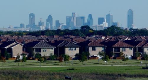 City and Suburbs Skyline