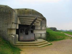 fortified military bunker