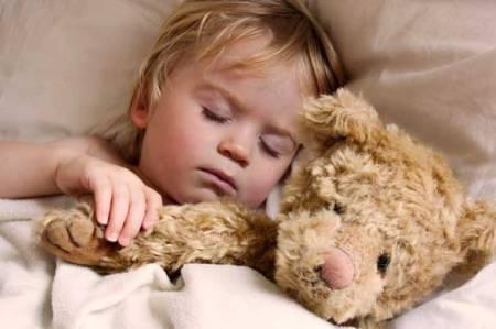 child-resting