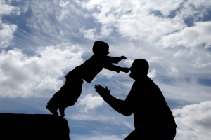 Child Trusting Father