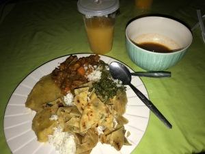 Uganda Dinner 1