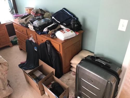 Packing for Uganda