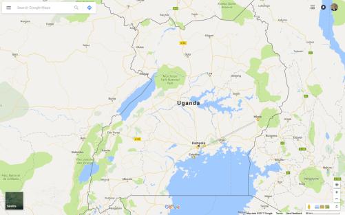 uganda map 1
