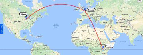 Flights to Uganda