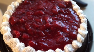 Costco Strawberry Cheesecake
