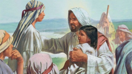 Parable: Jesus Blesses the Children