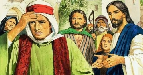 Parable: The Rich Young Ruler walks away from Jesus