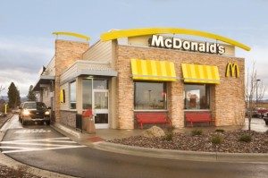 New McDonald's Building Design