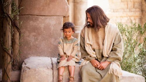 Sitting with Jesus