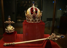 Royal Crown and Sceptor